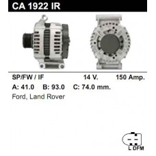 0121615003-CO Генератор (595.558.150) (CA1922IR)