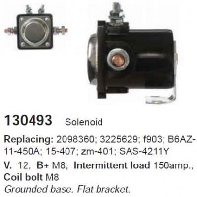 130493 Втягивающее реле Ford (ZM401)