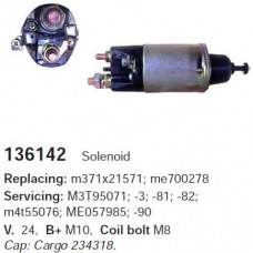 136142 Втягивающее реле Mitsubishi 24v (136142)