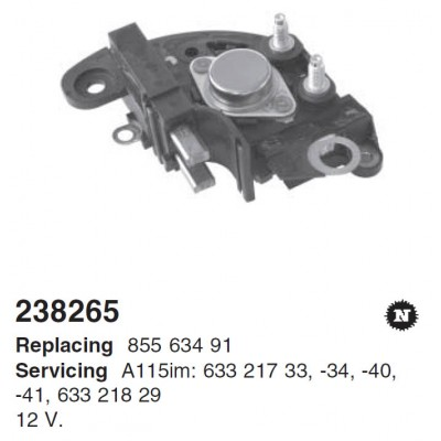 ARE4014(DENSO) Регулятор MM (238265)