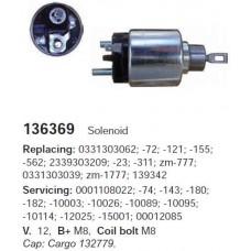 136369 Втягивающее реле Bosch (136369)