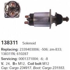 138311 Втягивающее реле Bosch (138311)