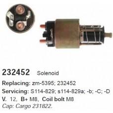 232452 Втягивающее реле Hitachi/MM (ZM5395)