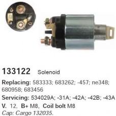 133122 Втягивающее реле Valeo (133122)