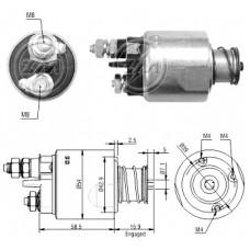 330787 Втягивающее реле Bosch (330787)