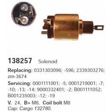 138257 Втягивающее реле Bosch (138257)